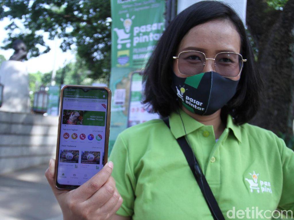 Dear Warga Bandung, Belanja Kebutuhan Pokok Kini Bisa Via Pasar Pintar