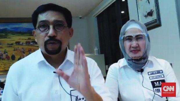 Bakal Calon Wali Kota Surabaya Machfud Arifin, akhirnya mengakui bahwa dirinya telah terkonfirmasi positif corona (Covid-19).