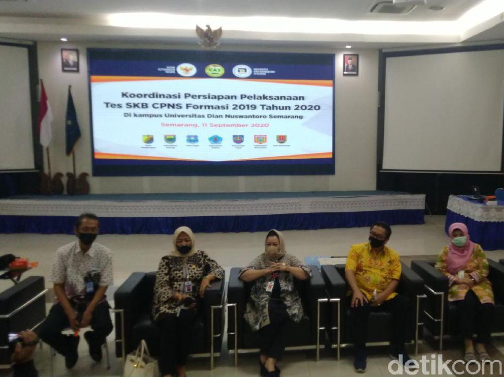 Udinus Semarang Siapkan Ruang Bagi Peserta SKB CPNS Bersuhu Tubuh Tinggi