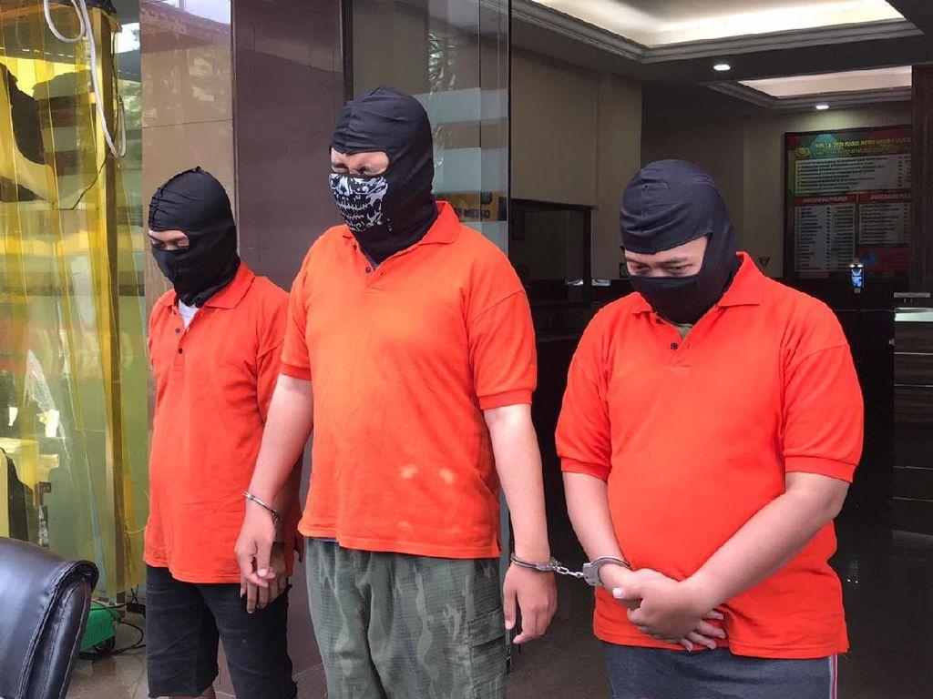 Polisi Gadungan di Jaksel Sasar Anak Muda yang Bikin Kerumunan