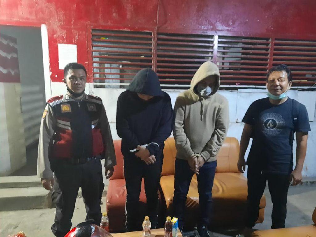 Bawa 1,3 Kg Narkoba Gorilla, 2 Pria di Makassar Ditangkap Polisi