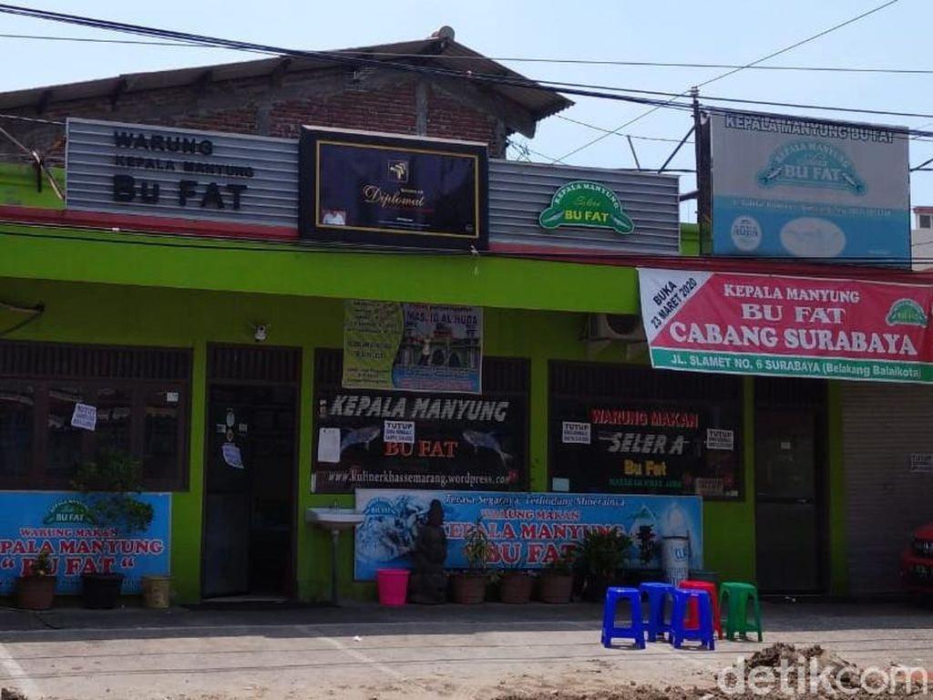 1 Pasien Corona dari Klaster Warung Makan Bu Fat Semarang Meninggal