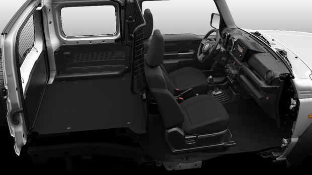 Suzuki Jimny versi niaga yang diluncurkan di Inggris pada 8 September 2020.
