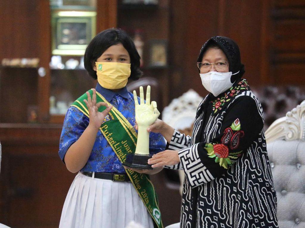 Pesan Risma untuk Pangeran dan Putri Lingkungan Hidup Surabaya 2020