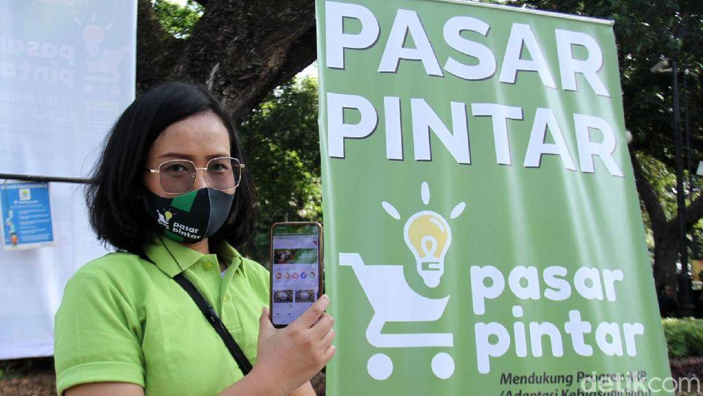 Pandemi Corona, Yuk Belanja Kebutuhan Pokok Bisa Via Pasar Pintar