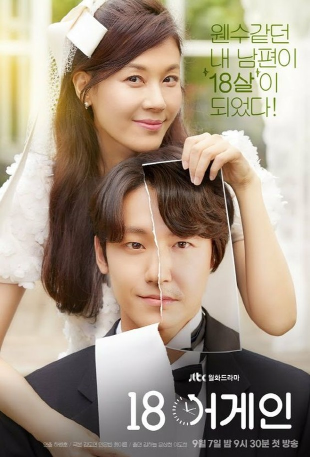 poster drama korea 18 again
