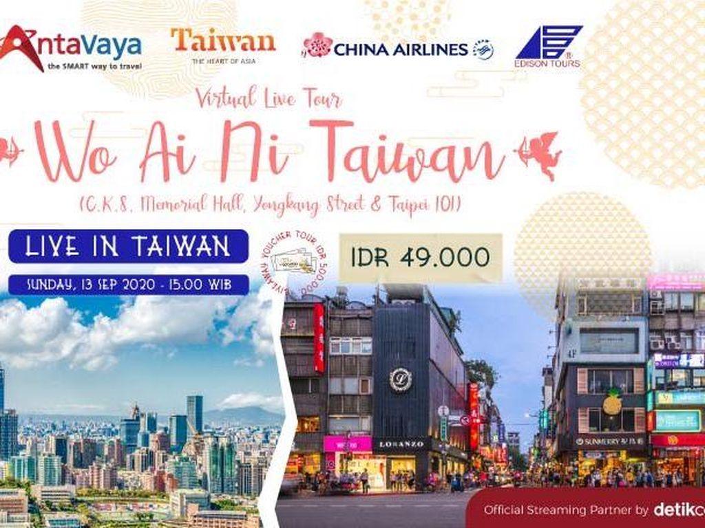 Asyik! Antavaya Ajak Traveler Jalan-jalan Virtual ke Taiwan