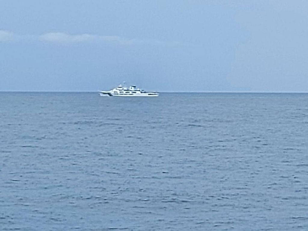 Bakamla RI Usir Kapal China dari Laut Natuna Utara