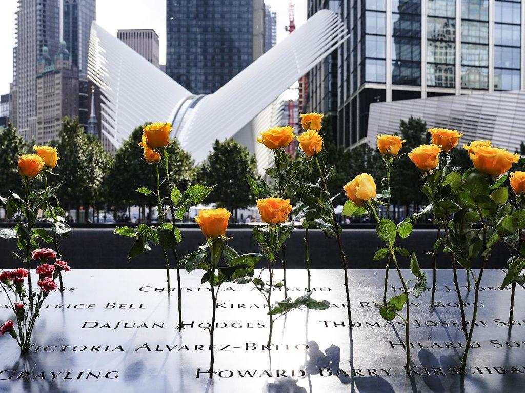 PeringatanTragedi 9/11 Diwarnai Pembatasan Sosial di Tengah Pandemi Corona