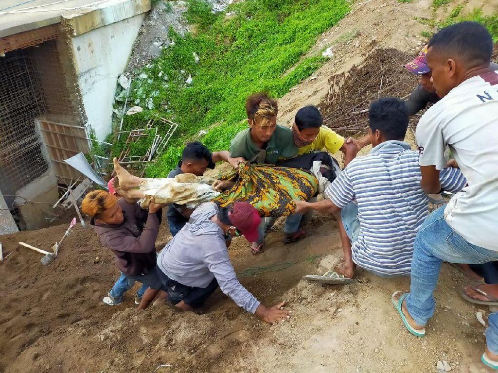 Sempat Dievakuasi, 2 Pekerja yang Tertimbun Tanah di Ubud Tewas