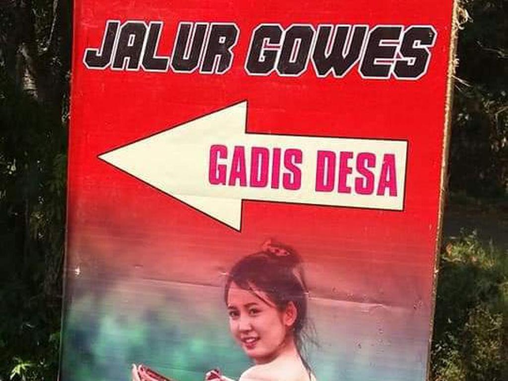 Jalur Gowes Gadis Desa yang Jadi Polemik Itu
