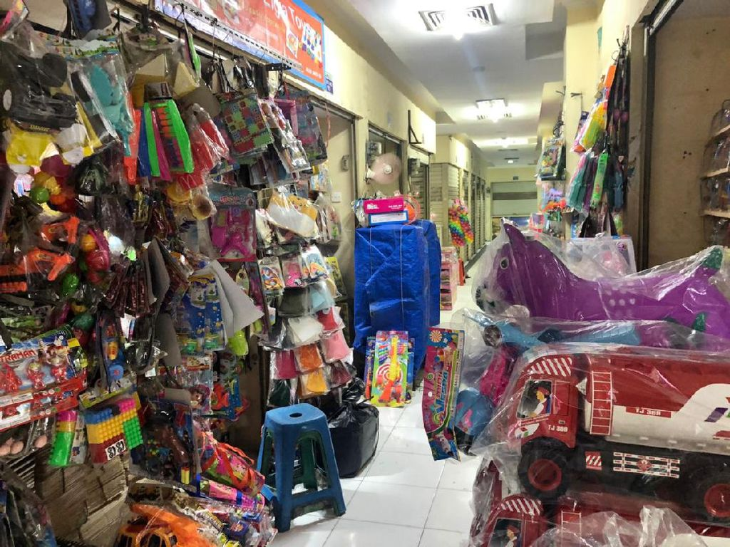 Jakarta Mau PSBB Total, Pasar Gembrong Bakal Ditutup?