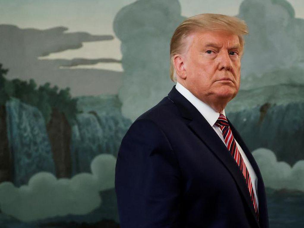 Presiden Donald Trump Gagal Diracun Lewat Surat