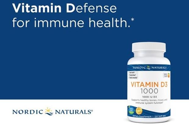 Nordic Naturals Vitamin D3 adalah suplemen vitamin D yang bagus untuk sistem imun