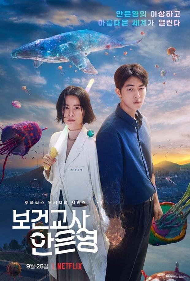 poster drama korea the school nurse files