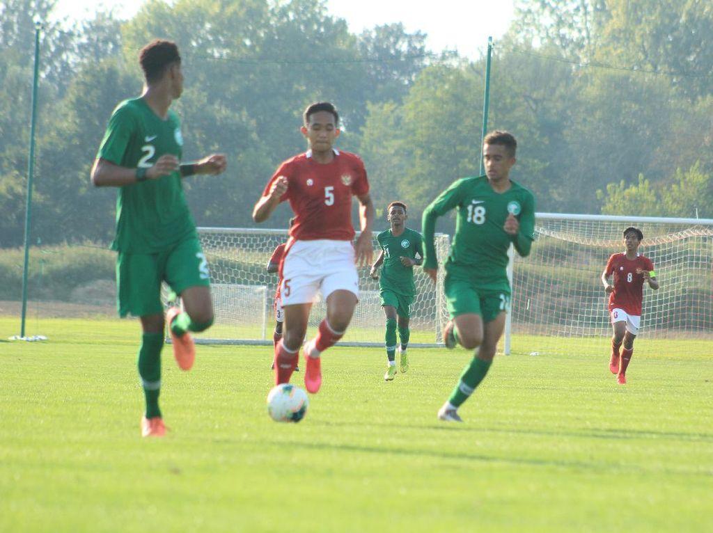 Sengit! Timnas U-19 Vs Arab Saudi Berakhir Imbang 3-3