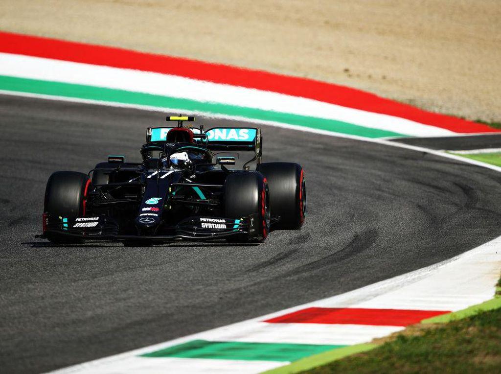 Sapu Bersih, Valtteri Bottas Tercepat di FP3 Formula 1 GP Tuscan