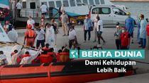 Berita Dunia: Bertaruh Nyawa Arungi Samudera Atlantik