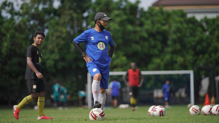 Pelatih Barito Putera, Djajang Nurjaman.