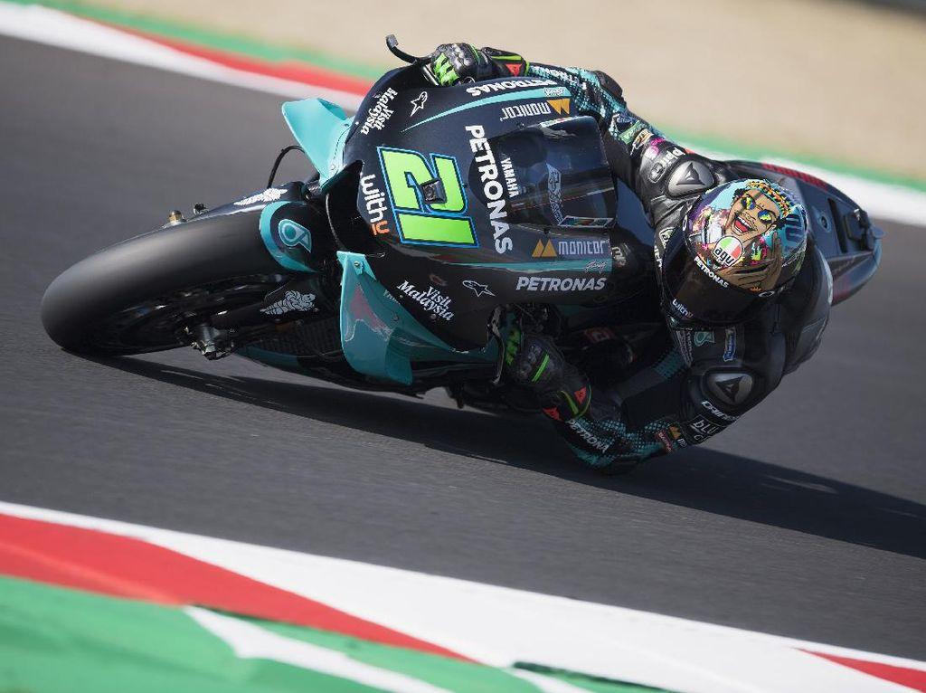 Free Practice II MotoGP Catalunya: Morbidelli Tercepat, Motor Quartararo Bermasalah