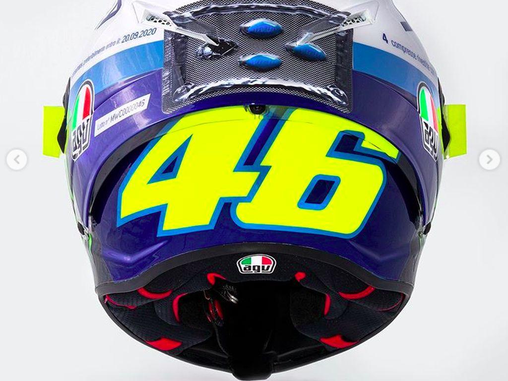 5 Fakta Pil Biru, Obat Kuat yang Hiasi Helm Valentino Rossi