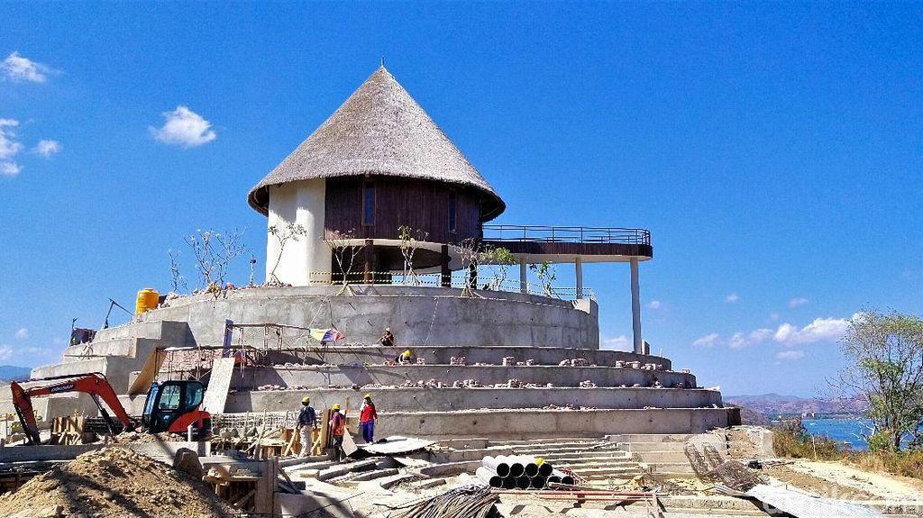 Intip Pembangunan Puncak Waringin Labuan Bajo