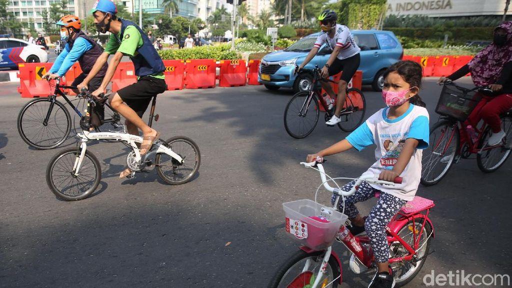 Jakarta Perketat PSBB, 10 Titik Kawasan Khusus Sepeda Ditiadakan