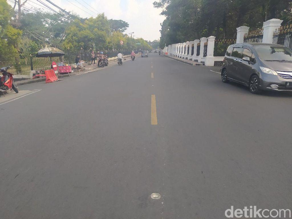 Jelang PSBB Jakarta, Kawasan Puncak Cianjur Sepi Wisatawan