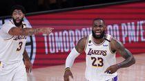 Hasil NBA: Akhiri Penantian 10 Tahun, Lakers ke Final Wilayah Barat