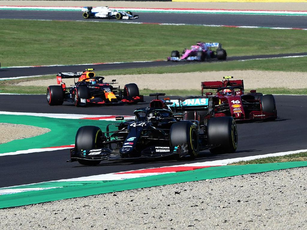 Hasil GP Tuscan: Hamilton Juara, Pembalap Thailand Rebut Podium
