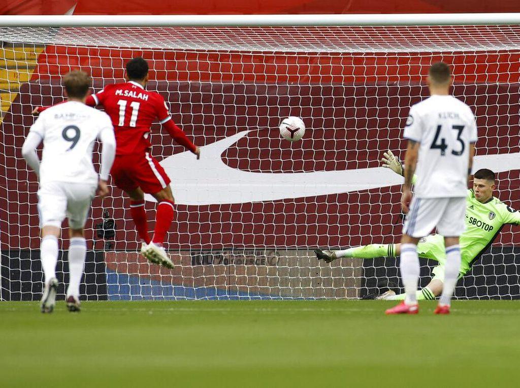 Lima Gol di Babak I, Liverpool Ungguli Leeds 3-2