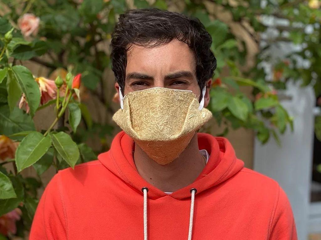 Ada Masker Sekali Pakai Ramah Lingkungan Terbuat dari Ganja