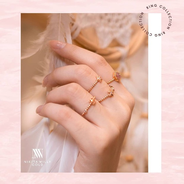 Koleksi foto produk Nikita Willy Gold, bisnis aksesoris perhiasan dari Nikita Willy.