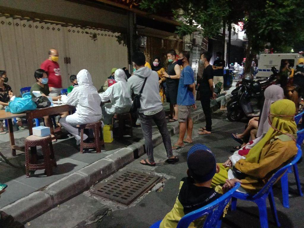Asyik Kuliner Malam Mingguan, Enam Warga Surabaya Reaktif Saat Rapid Test