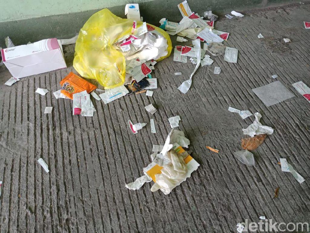 Sampah Hazmat dan Bungkus Rapid Test Berserakan di Suramadu, Pemkot Minta Maaf