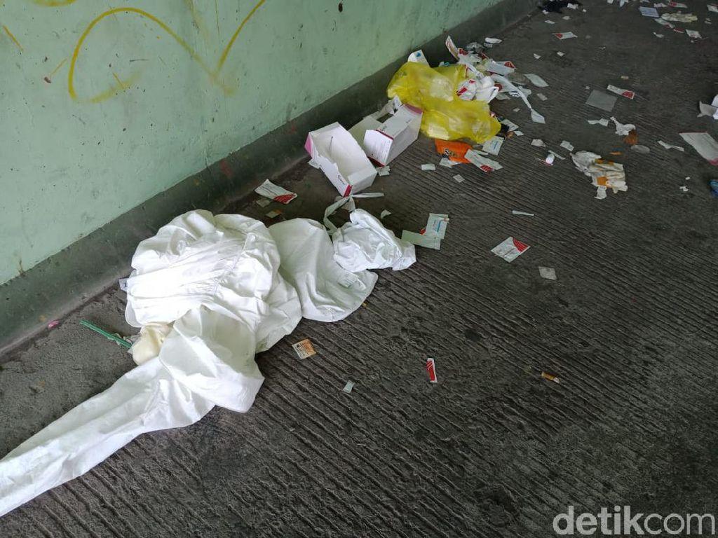 Viral Sampah Hazmat dan Bungkus Rapid Test Berserakan di Suramadu, Ini Faktanya