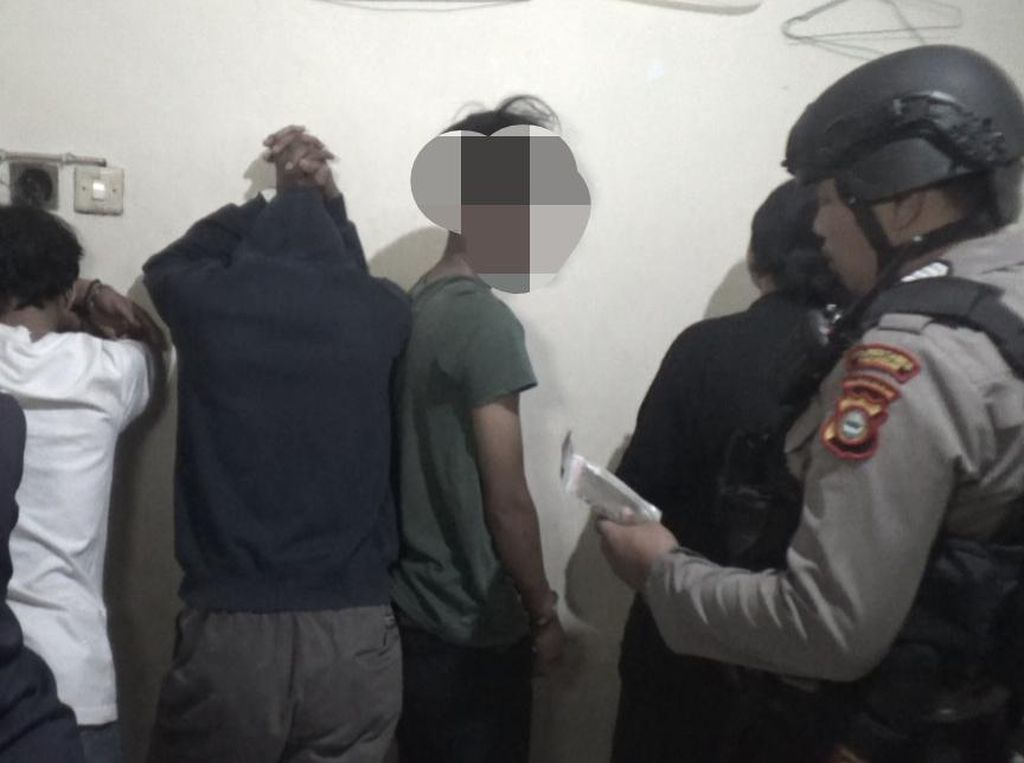 Bawa Tembakau Gorila, 5 Pelajar SMA di Makassar Ditangkap