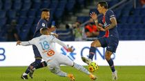 Video Ribut-ribut PSG Vs Marseille, Neymar Dikartu Merah