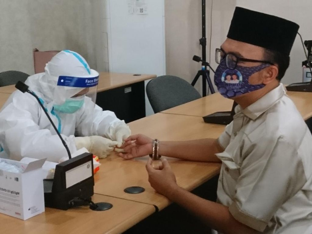 Cegah Penyebaran Corona, Pemkot Rapid Test Seluruh Anggota DPRD Cilegon