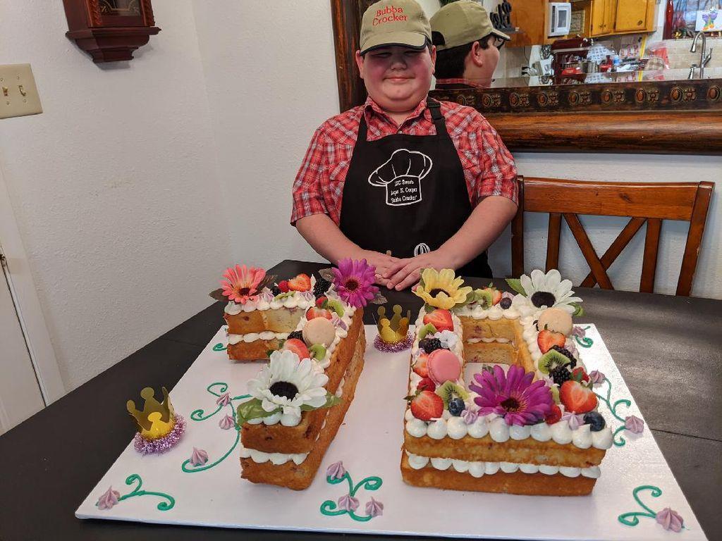 Keren! Bocah 11 Tahun Ini Kantongi Jutaan Rupiah Seminggu dari Bikin Kue