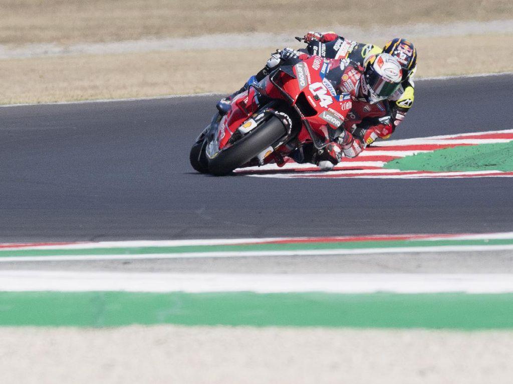 Meski Puncaki Klasemen MotoGP, Dovizioso Frustrasi