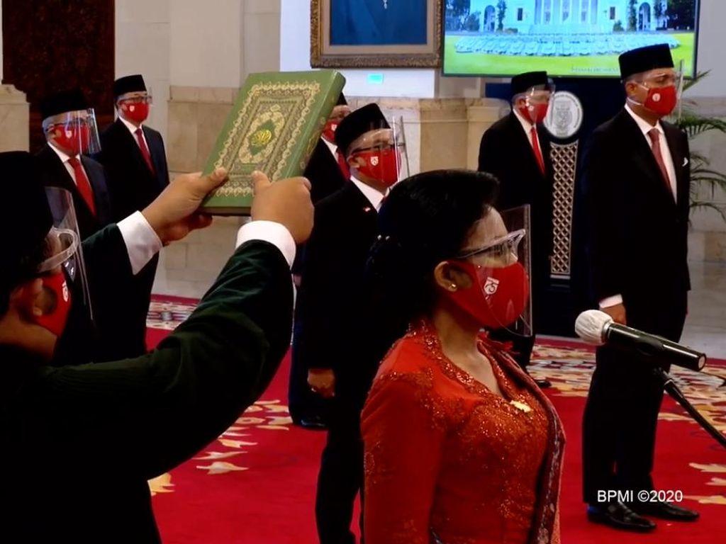 Sah! 20 Duta Besar Luar Biasa dan Berkuasa Penuh Dilantik Jokowi