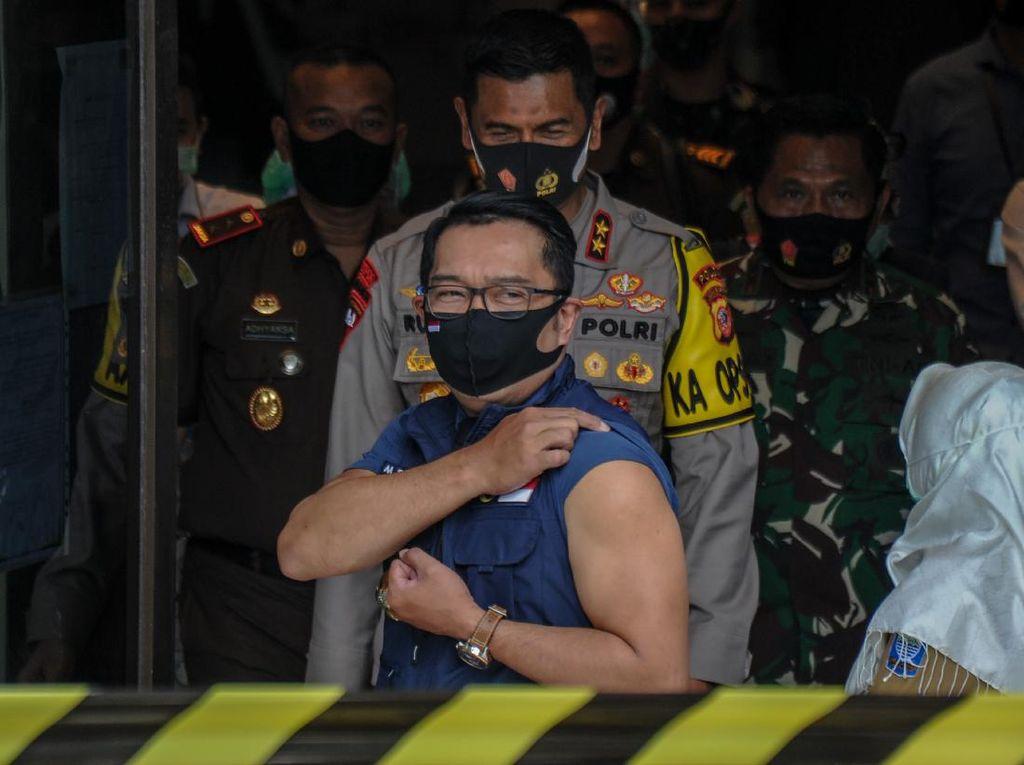 Alasan Ridwan Kamil Jadi Relawan: Banyak Hoax soal Vaksin COVID