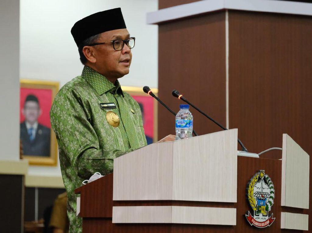 Gubernur Sulsel Tandatangani Rancangan Awal Perubahan RPJMD 2018-2023