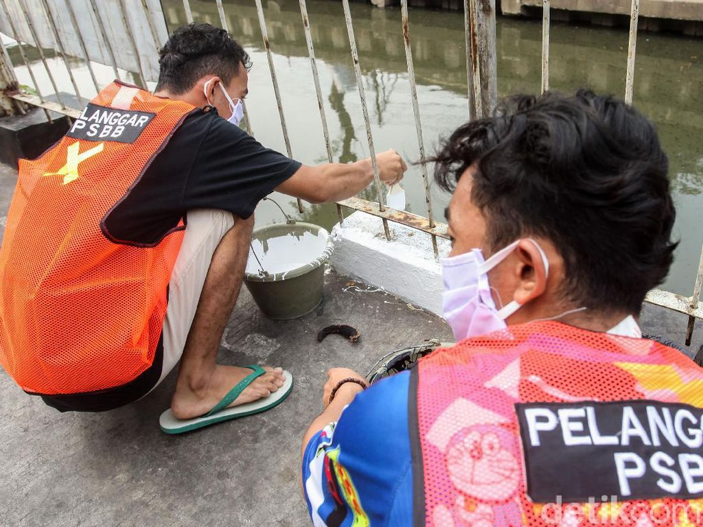 Lebih dari 4.700 Orang di DKI Langgar Penggunaan Masker Saat PSBB Ketat