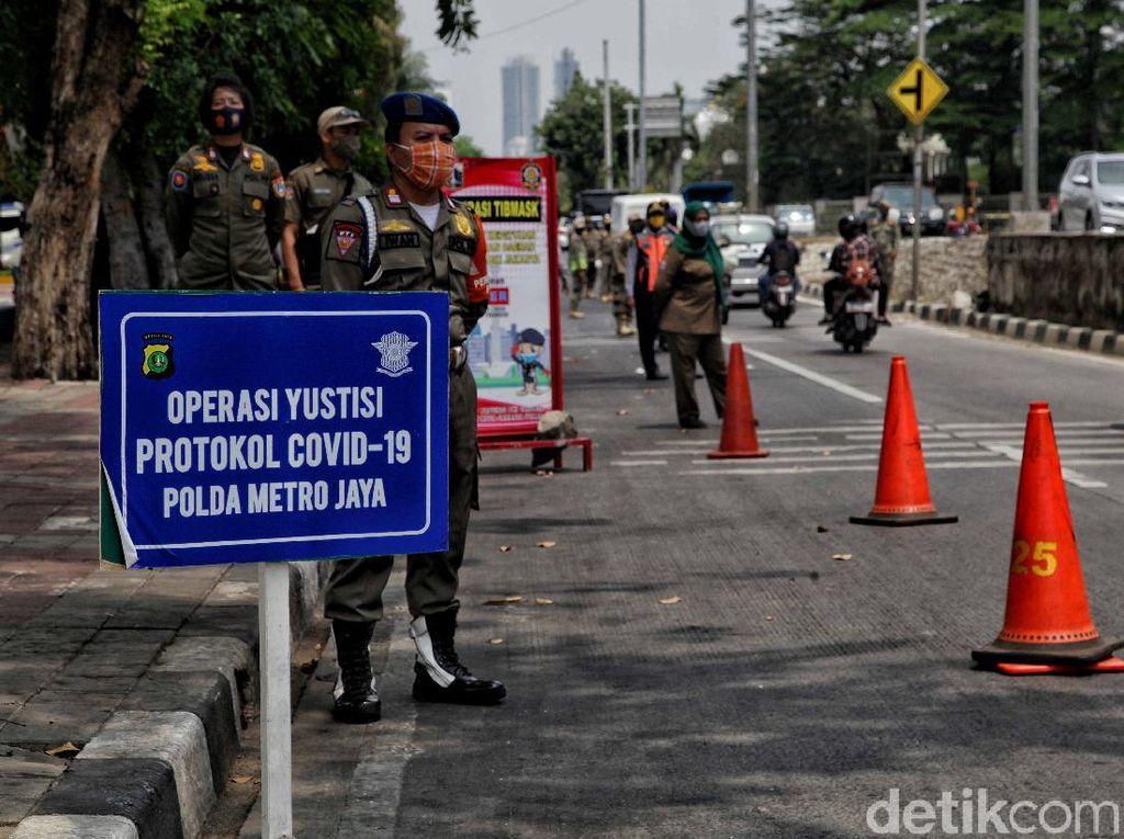 Operasi Yustisi di Jakarta, 6.800 Personel Gabungan Diterjunkan
