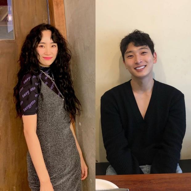 Jinwoon dan Yeeun mulai berkencan pada tahun 2014 saat keduanya masih berada di agensi yang sama, JYP Entertainment.