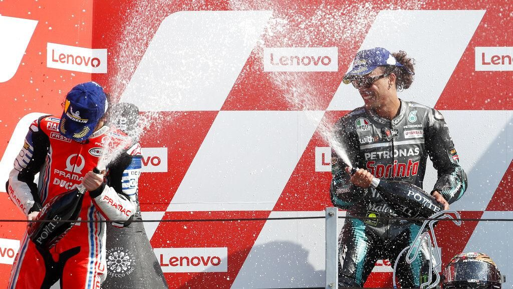 Dua Murid Valentino Rossi Berhasil Menangi MotoGP San Marino