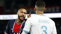 Tempeleng Kepala Pemain Marseille, Neymar Diskors 2 Laga