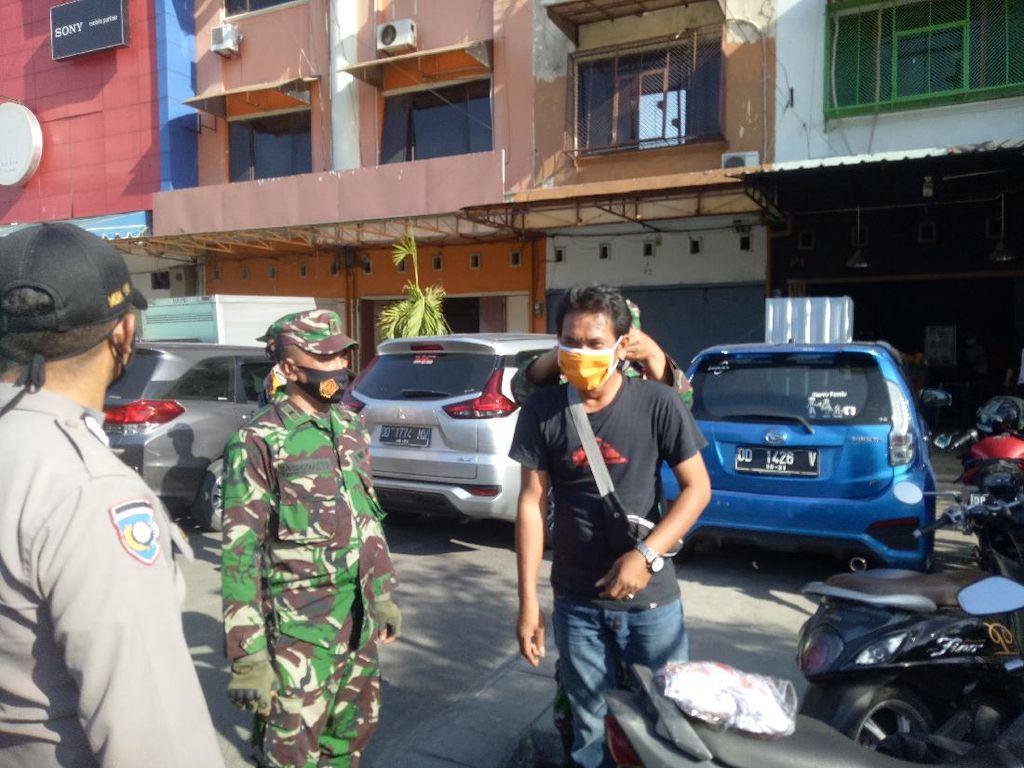 Operasi Yustisi di Ujung Pandang, Warga Tak Bermasker Kabur Lihat Petugas